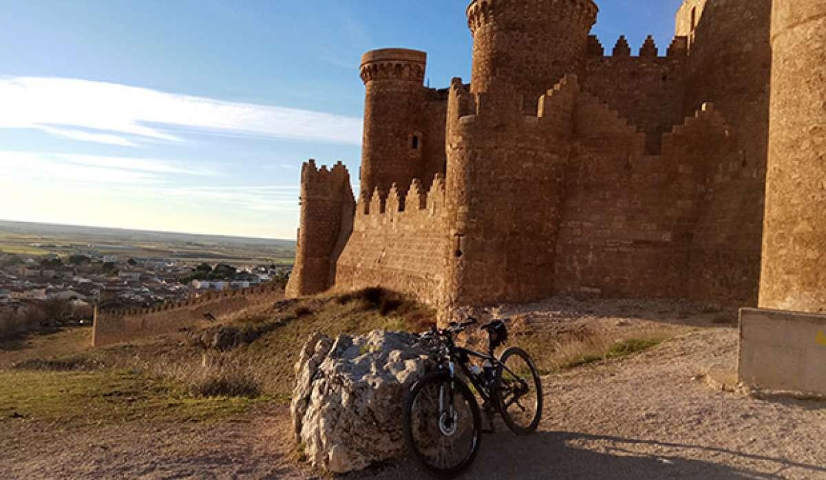 """La foto del día en TodoMountainBike: """"Castillo de Belmonte"""""""