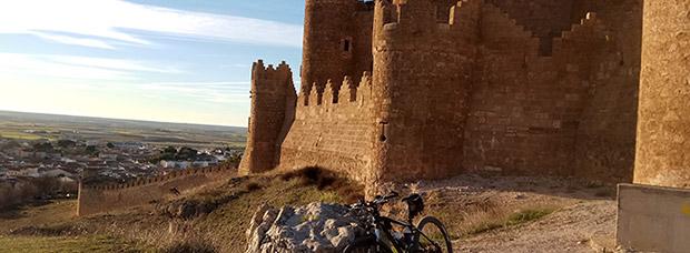 La foto del día en TodoMountainBike: 'Castillo de Belmonte'