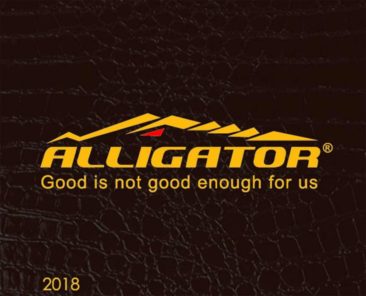 Catálogo de Alligator 2018. Toda la gama de componentes Alligator para la temporada 2018