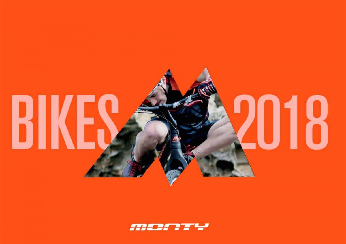 Catálogo de Monty 2018. Toda la gama de bicicletas, componentes y accesorios de Monty para la temporada 2018