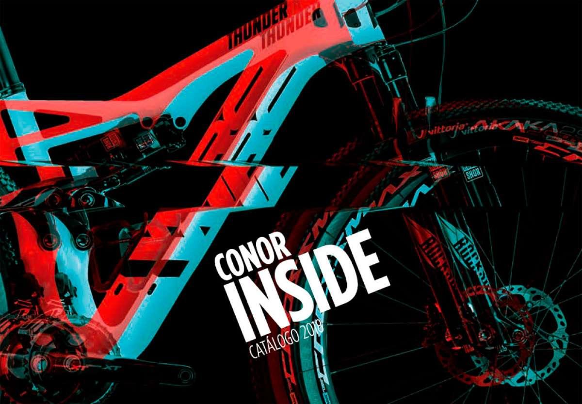 En TodoMountainBike: Catálogo de Conor 2018. Toda la gama de bicicletas Conor para la temporada 2018