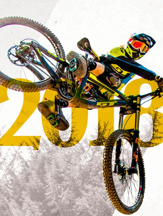 Catálogo de GT Bicycles 2018. Toda la gama de bicicletas GT para la temporada 2018