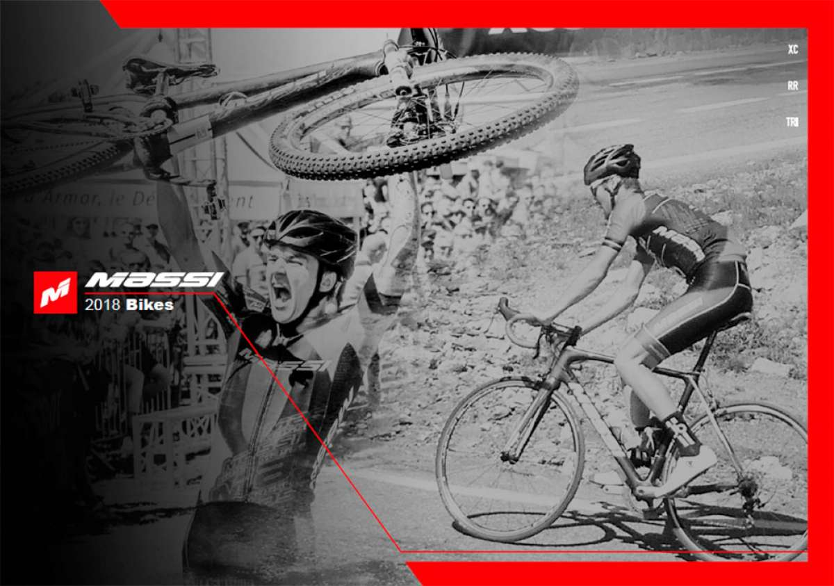 Catálogo de Massi Bikes 2018. Toda la gama de bicicletas Massi para la temporada 2018