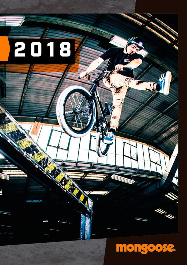 Catálogo de Mongoose 2018. Toda la gama de bicicletas Mongoose para la temporada 2018