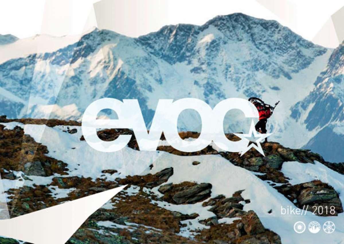 Catálogo de EVOC 2018. Toda la gama de accesorios EVOC para la temporada 2018