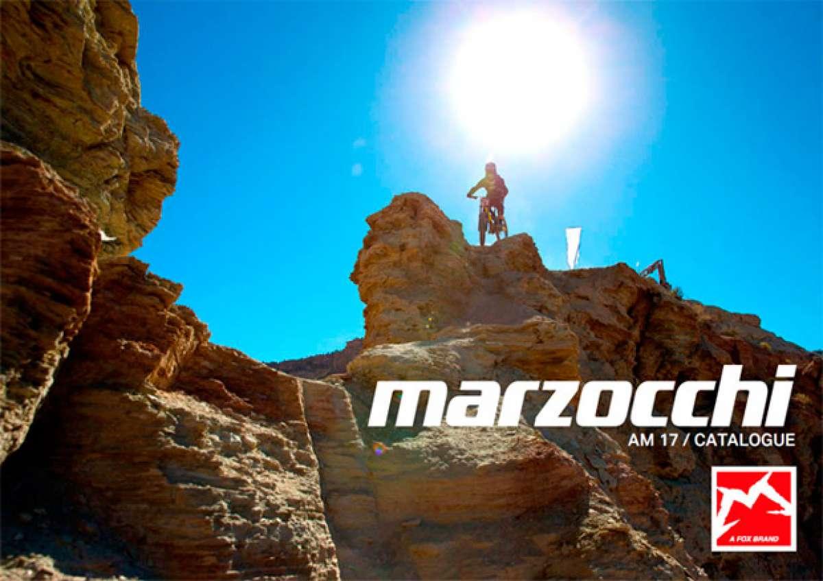 Catálogo de Marzocchi 2017. Toda la gama de suspensiones Marzocchi para la temporada 2017