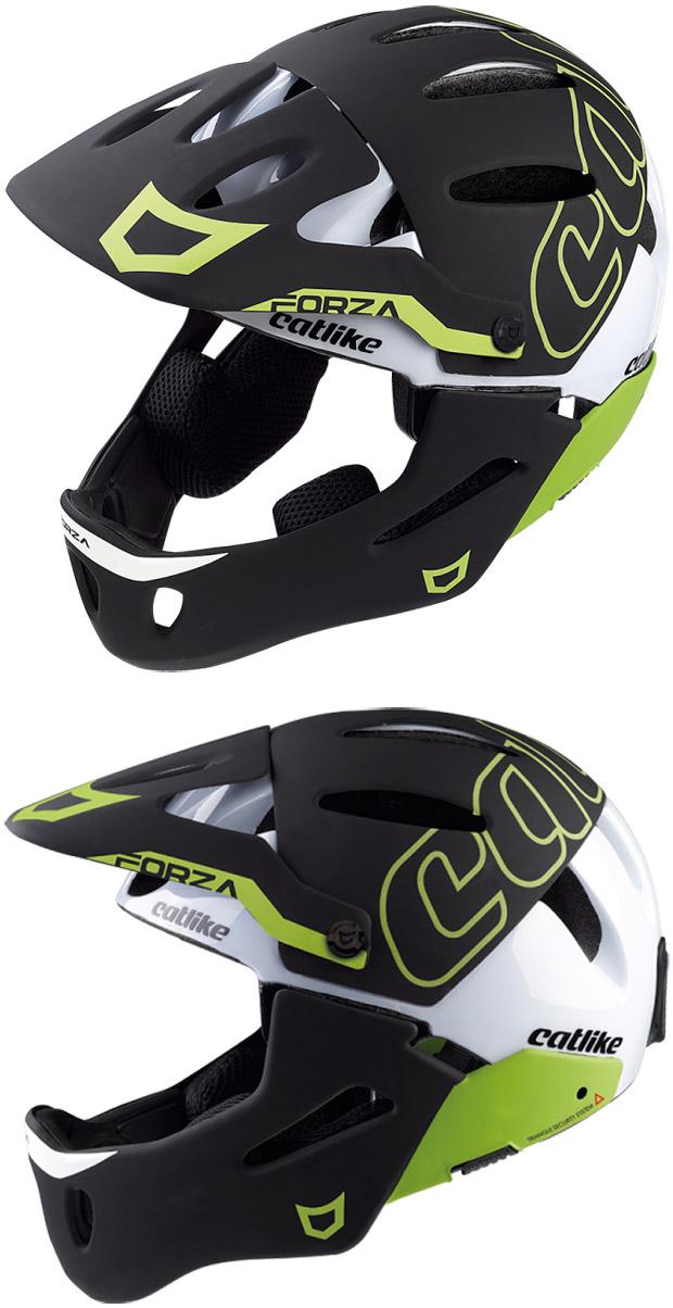 En TodoMountainBike: Catlike Forza 2.0, el primer casco para Enduro y DH (con mentonera desmontable) de la marca