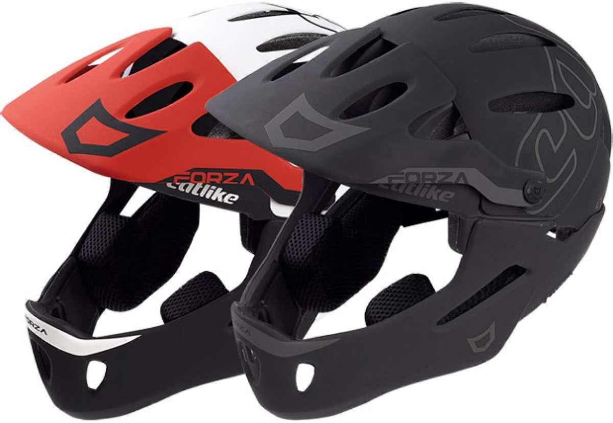 Catlike Forza 2.0, el primer casco para Enduro y DH (con mentonera desmontable) de la marca