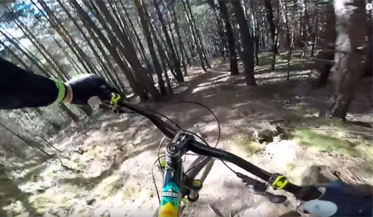 Cédric Gracia, una pista secreta de Vallnord y una bicicleta sin cadena