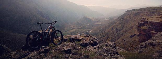 La foto del día en TodoMountainBike: 'Valle del Huenes'