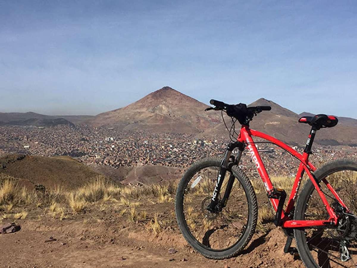 """La foto del día en TodoMountainBike: """"Cerro Rico de Potosí"""""""