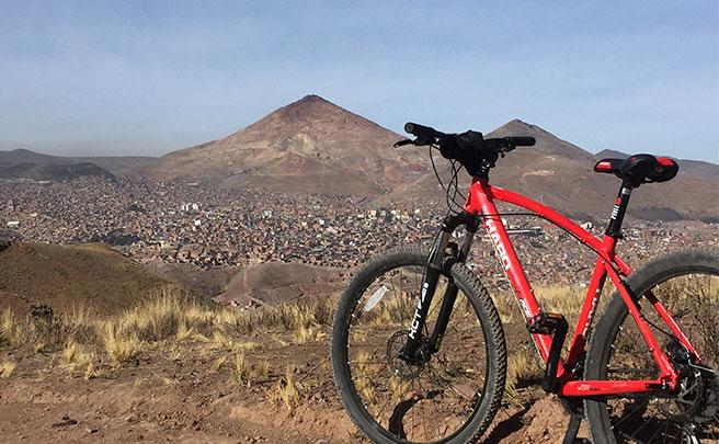 La foto del día en TodoMountainBike: 'Cerro Rico de Potosí'