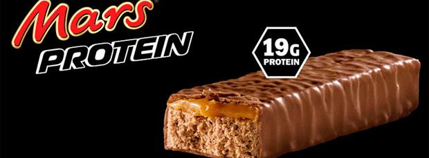 Una buena dosis de proteínas con las nuevas chocolatinas Snickers Protein y Mars Protein