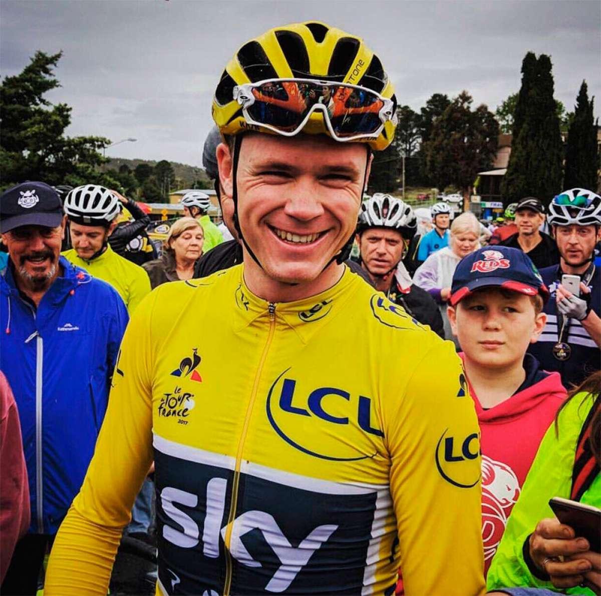 Chris Froome, el ganador de la Vuelta a España 2017, da positivo por dopaje