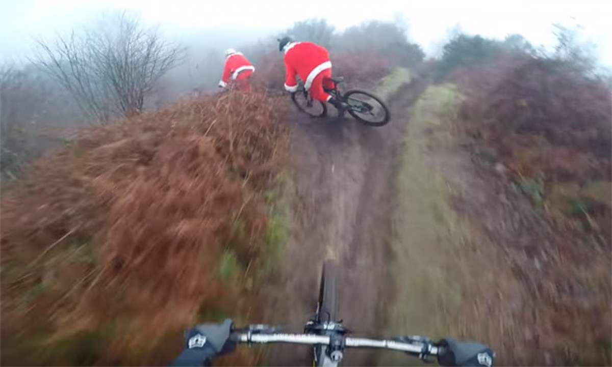 En TodoMountainBike: Christmas Carnage: caídas de Mountain Bike a ritmo de música de Navidad