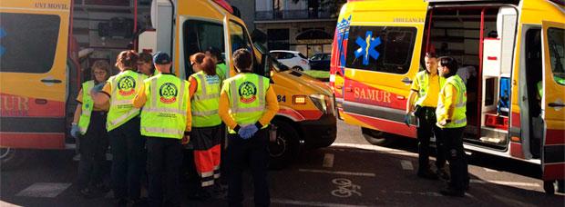 Un ciclista muerto al ser arrollado por un camión en el carril bici de la calle Alcalá de Madrid
