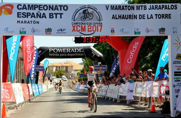 En TodoMountainBike: Ismael Ventura y Natalia Fischer, vencedores del Campeonato de España XCM 2017