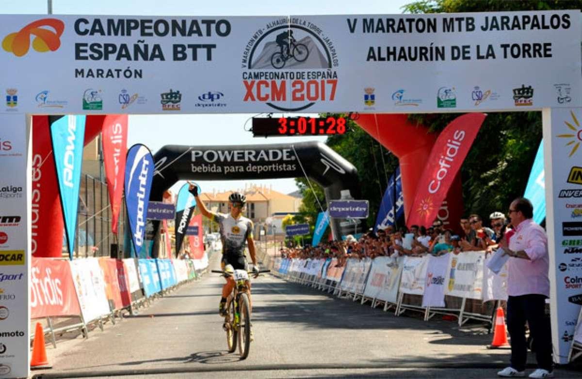 Ismael Ventura y Natalia Fischer, vencedores del Campeonato de España XCM 2017