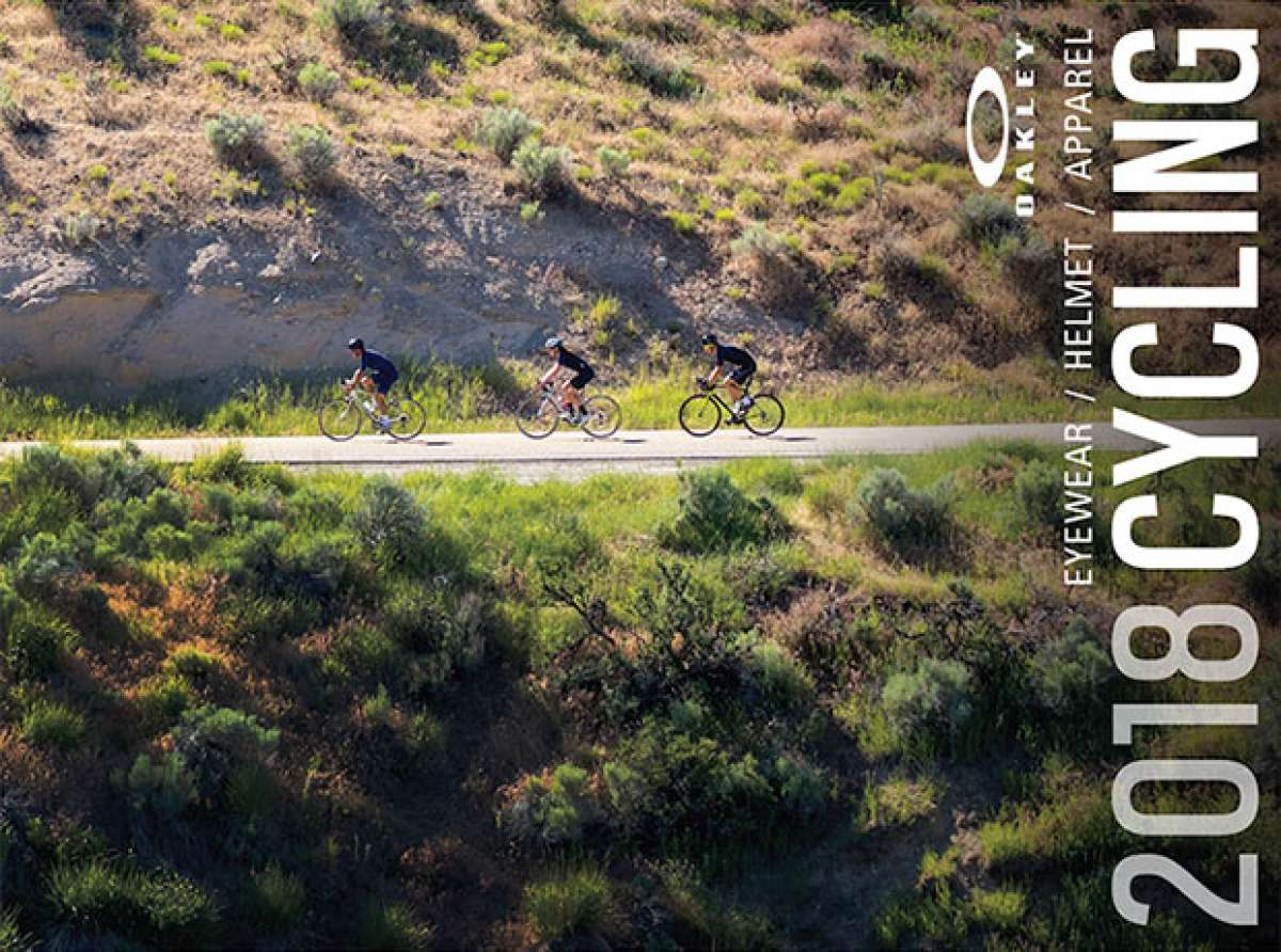 Oakley presenta una línea integral de cascos, equipaciones y complementos para ciclistas