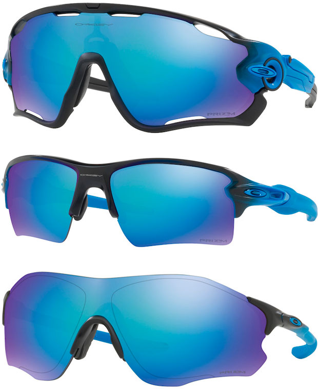 En TodoMountainBike: Lentes Primz Sapphire para la colección de gafas Oakley Sapphire Fade Collection
