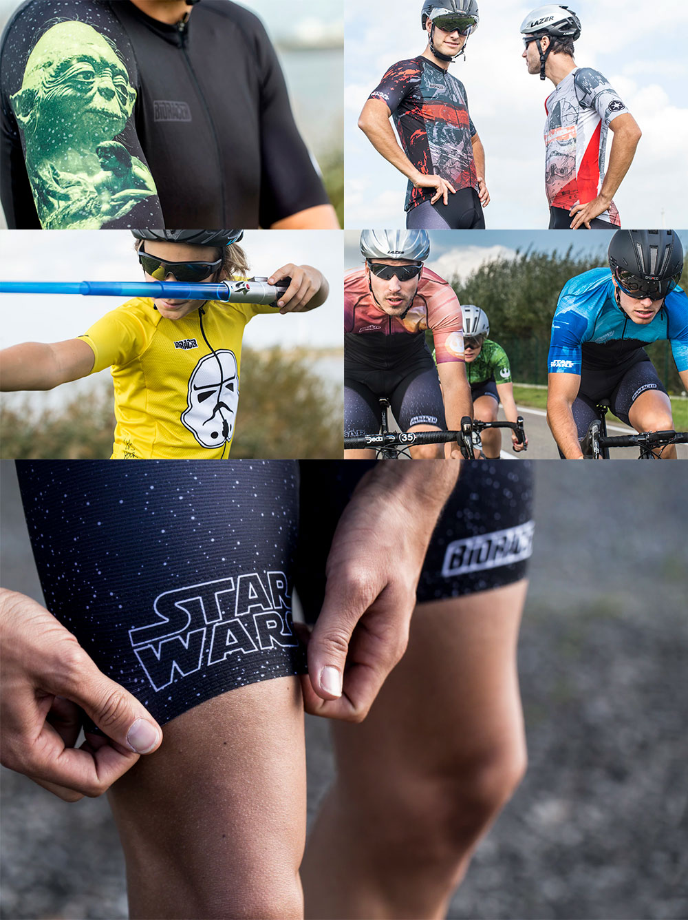 En TodoMountainBike: Bioracer y Disney lanzan una completa colección de ropa ciclista inspirada en Star Wars