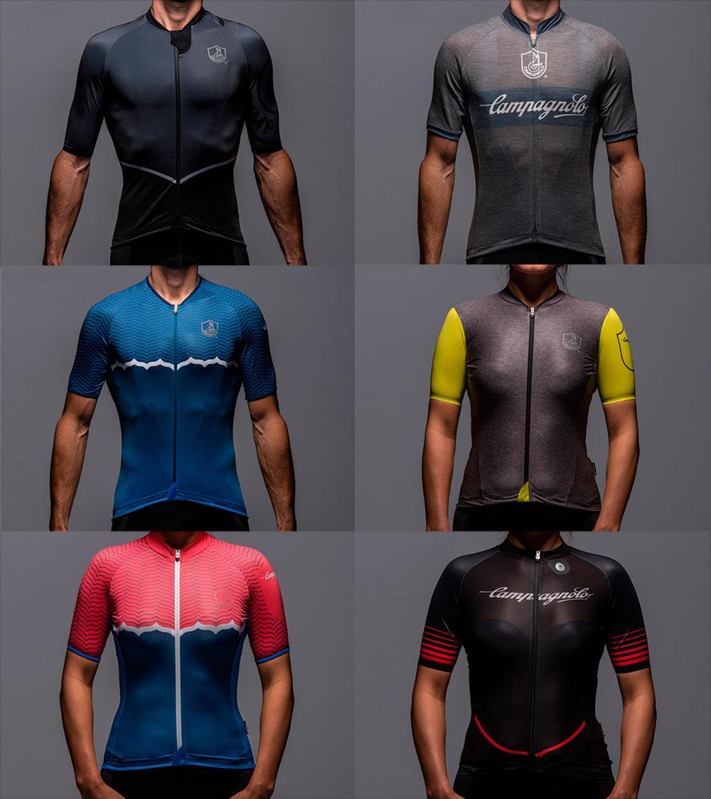 En TodoMountainBike: Campagnolo se adentra en el mundo textil lanzando una completa colección de ropa técnica para ciclistas