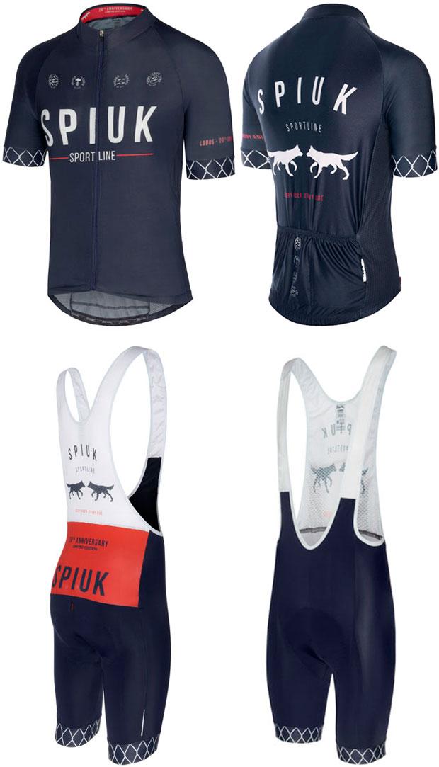 En TodoMountainBike: Spiuk #Lobos, una colección de ropa en edición limitada para celebrar los 20 años de historia de la marca