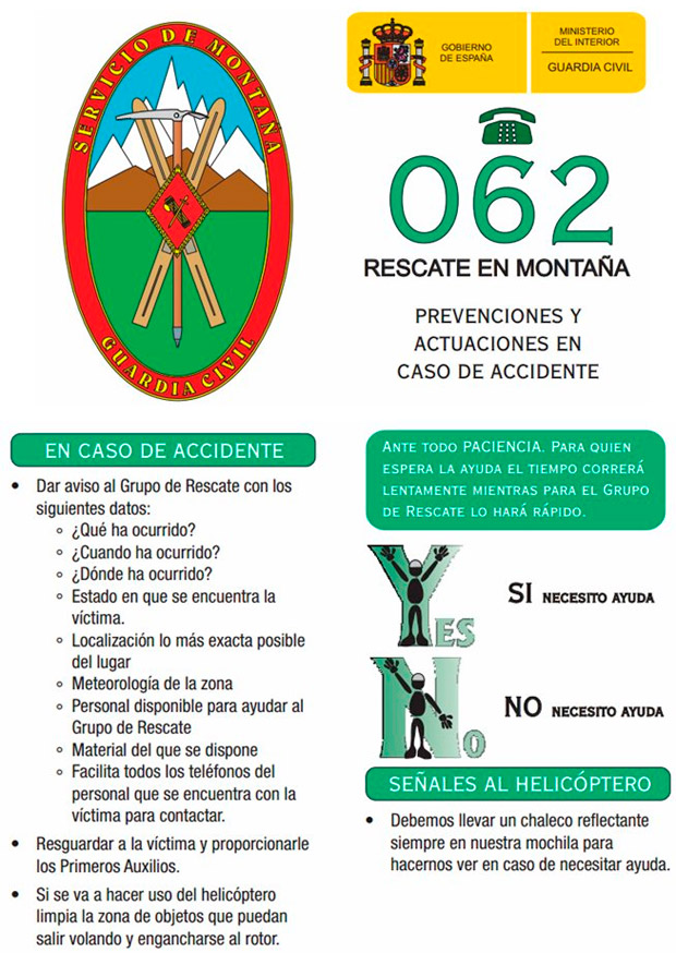 En TodoMountainBike: Cómo actuar ante un accidente grave en la montaña y cómo comunicarse con los servicios de emergencia