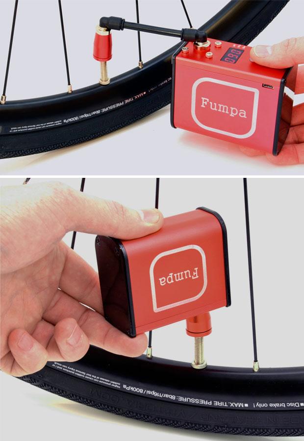 En TodoMountainBike: MiniFumpa, el compresor de aire que cabe en el bolsillo de un maillot