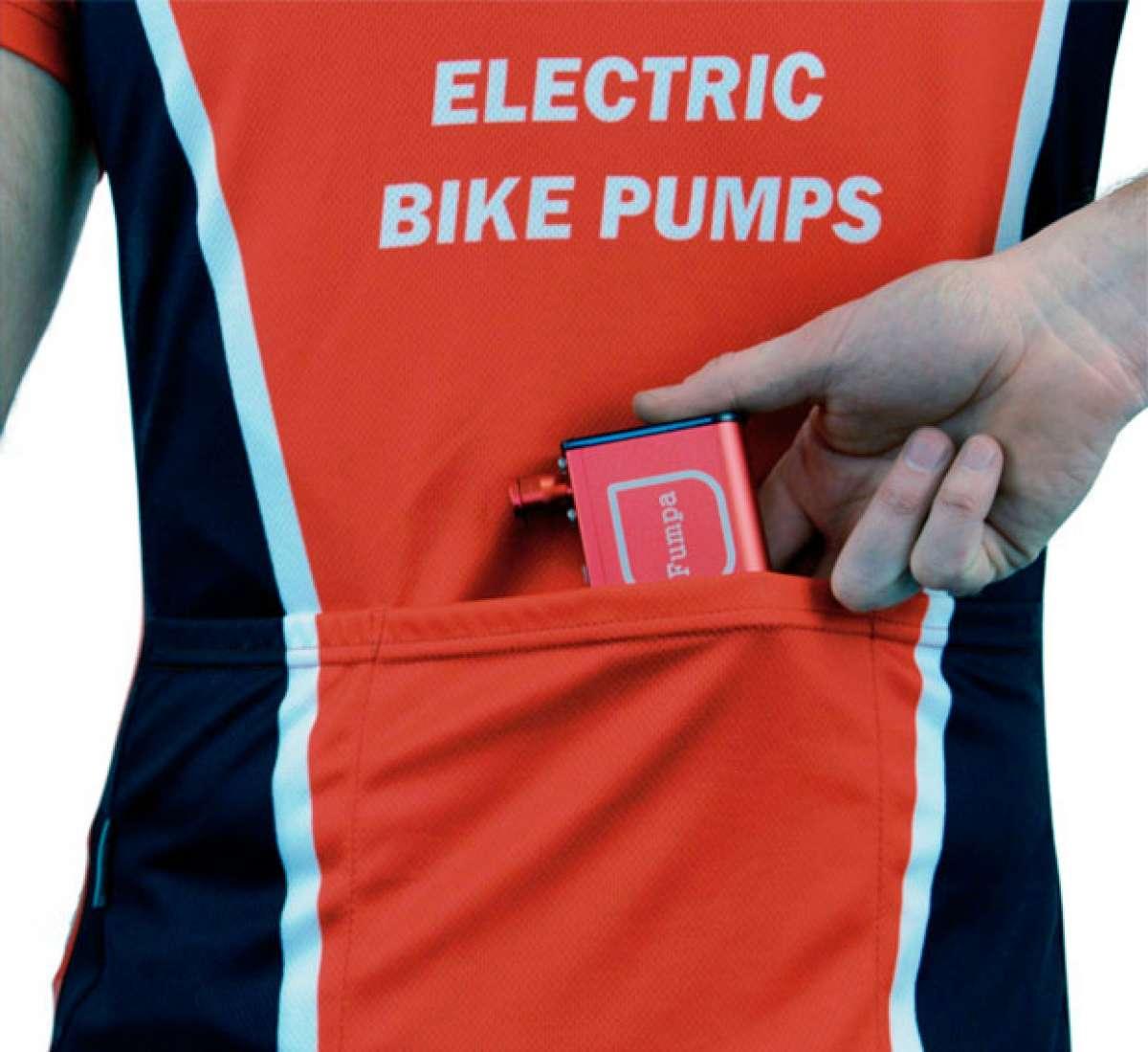 MiniFumpa, el compresor de aire que cabe en el bolsillo de un maillot