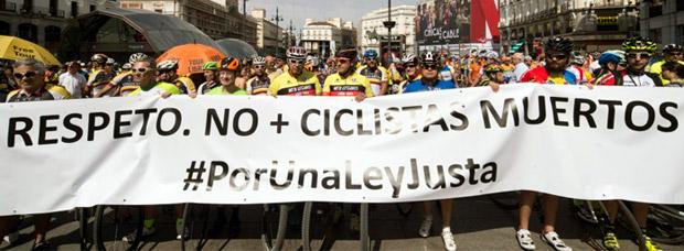 El ciclismo, un deporte de alto riesgo en España