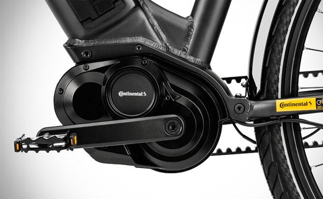 Continental presenta un motor eléctrico de 48V con transmisión automática para e-Bikes