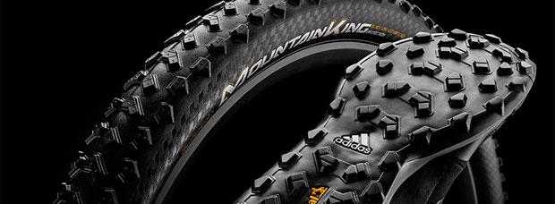 Más tracción y menos resistencia a la rodadura para el neumático Continental Mountain King de 2018