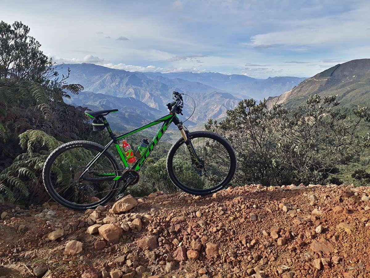 """La foto del día en TodoMountainBike: """"Cordillera Oriental (Colombia)"""""""