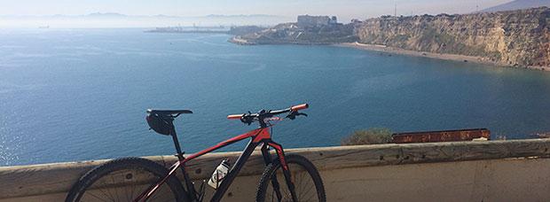 La foto del día en TodoMountainBike: 'Vista de la costa de Melilla'