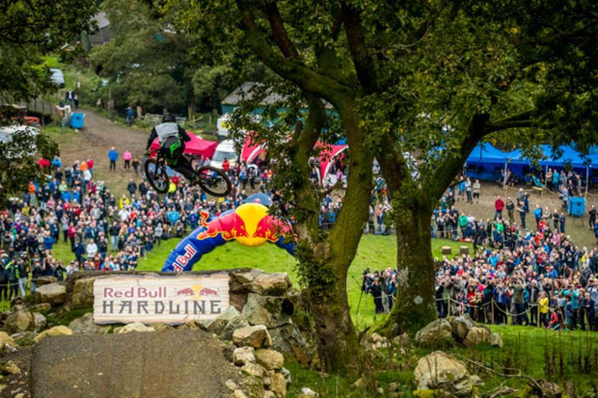 En TodoMountainBike: Craig Evans, vencedor de la Red Bull Hardline 2017