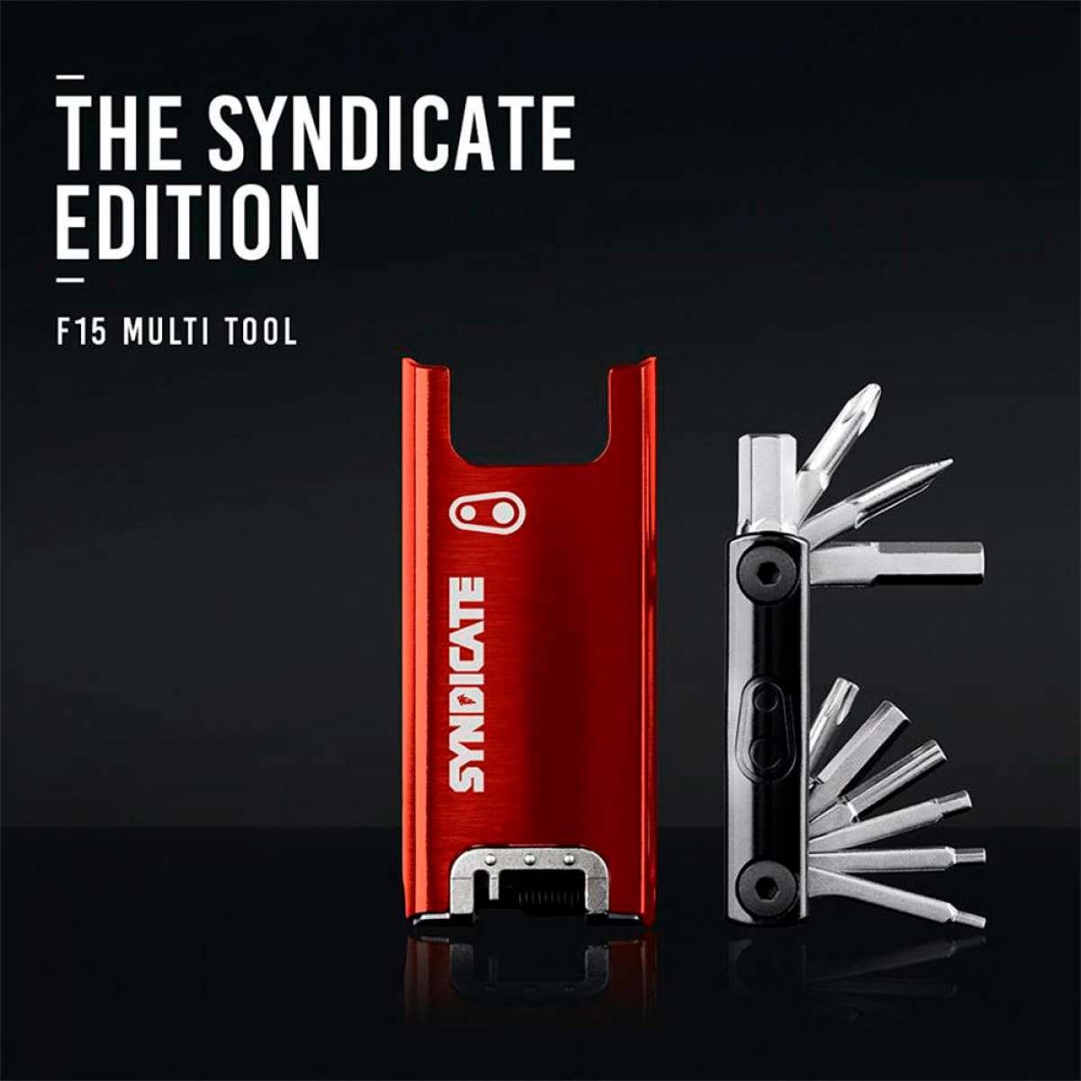 En TodoMountainBike: Edición especial 'Syndicate Edition' para la multiherramienta Crankbrothers F15