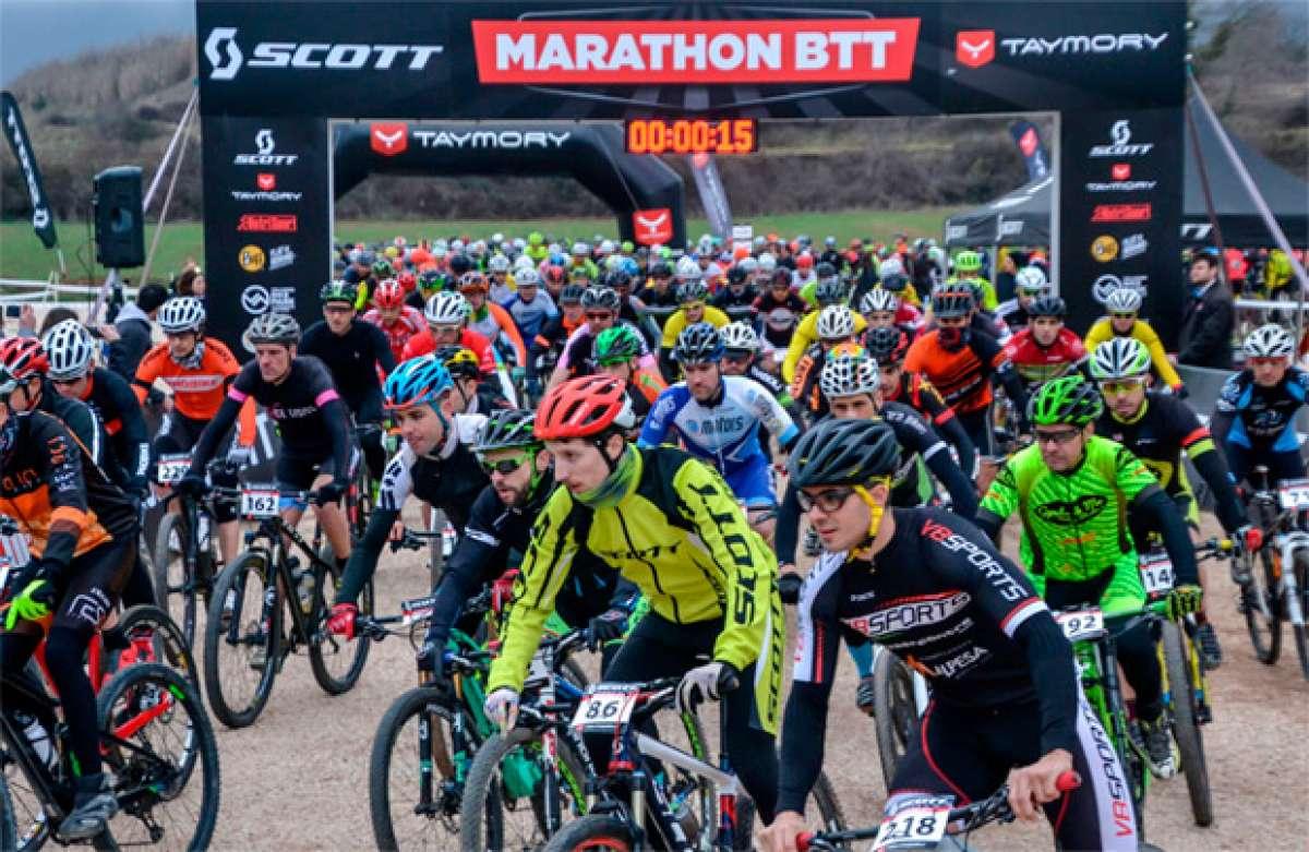 En TodoMountainBike: La Scott Marathon by Taymory de Mediona 2017, para Francesc Guerra y Veerle Cleiren