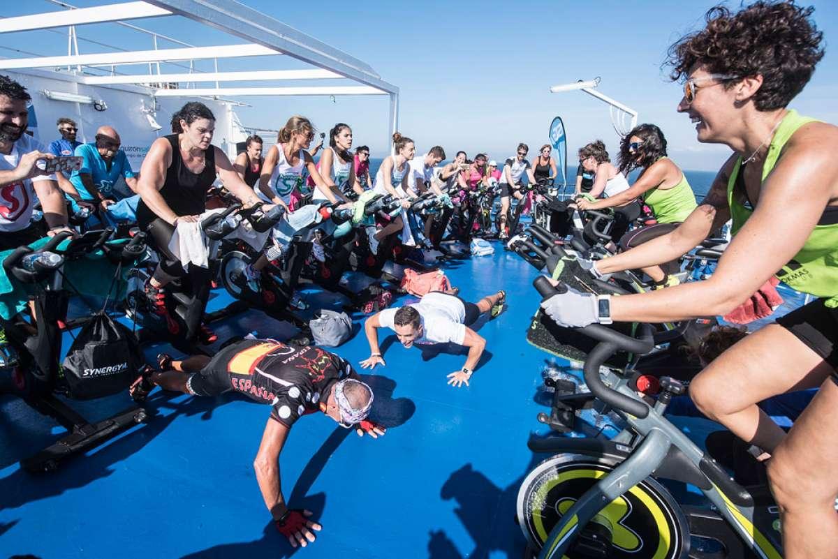 """En marcha la cuarta edición de """"Cruzando el Estrecho de Gibraltar en Bicicleta"""""""