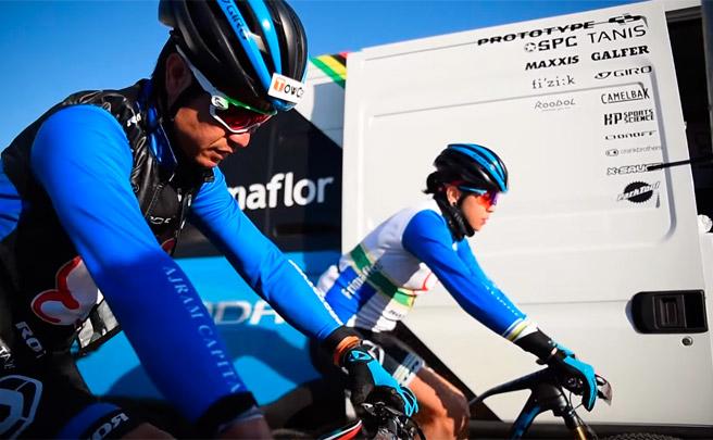 La cuarta etapa de la Andalucía Bike Race 2017 con el Primaflor-Mondraker-Rotor Racing Team