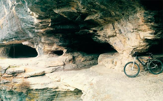 La foto del día en TodoMountainBike: 'Cuevas de Goros (Álava)'