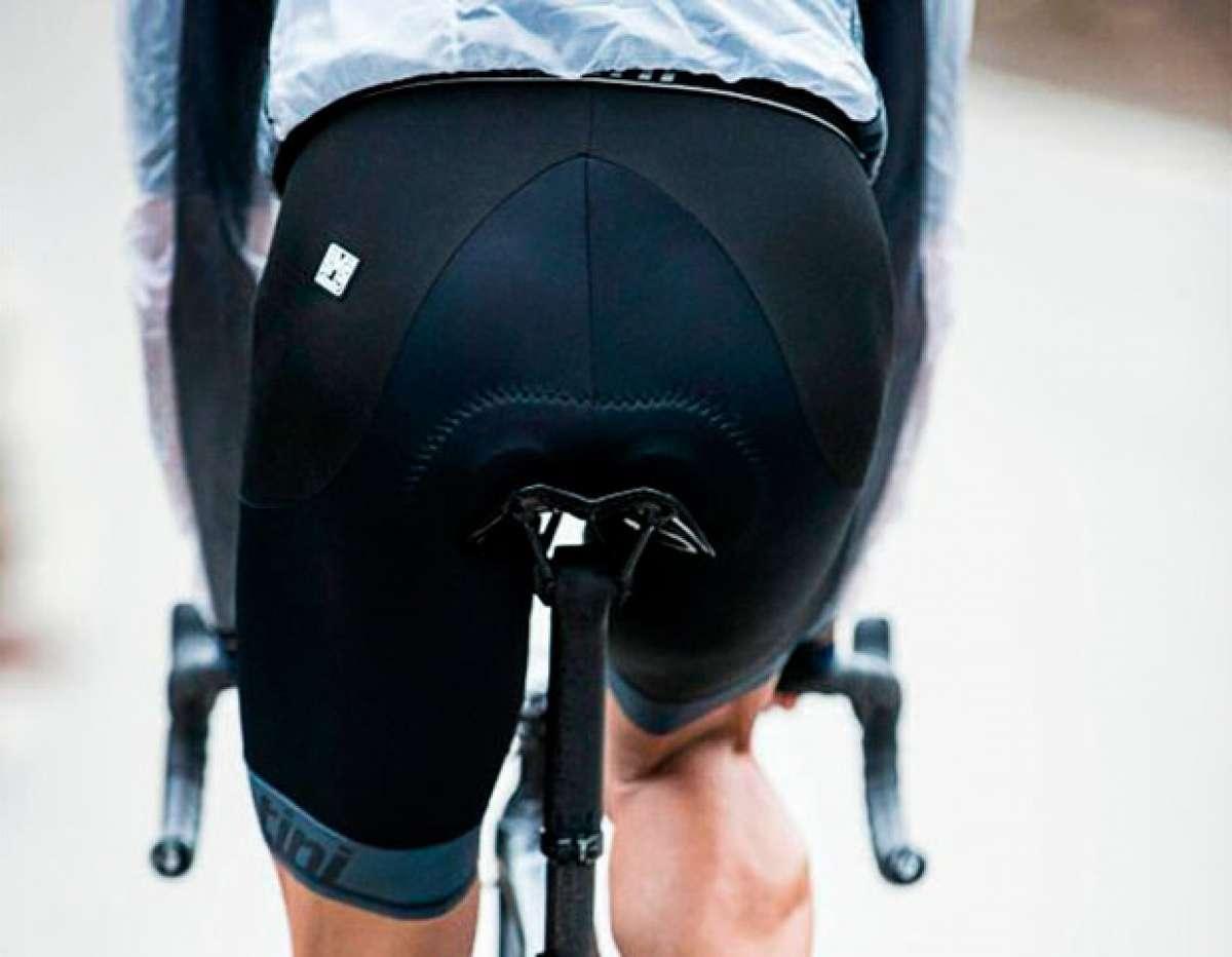 Santini Impact, el culotte con tejido más resistente que el acero para proteger a los ciclistas en las caídas