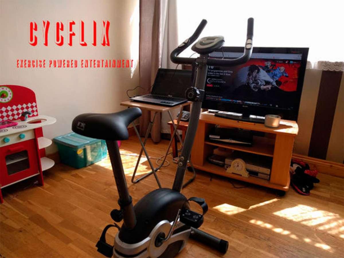 En TodoMountainBike: Cycflix, la bicicleta estática para ver series de Netflix sin dejar de pedalear