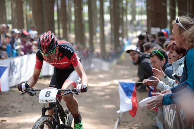 """En TodoMountainBike: David Valero, tras quedar segundo en Nové Město: """"He preferido ser un poco prudente y asegurar el segundo puesto"""""""