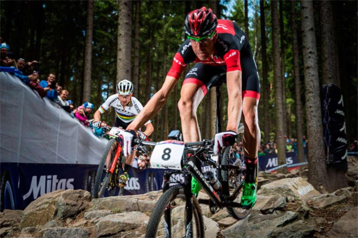 """David Valero, tras quedar segundo en Nové Město: """"He preferido ser un poco prudente y asegurar el segundo puesto"""""""