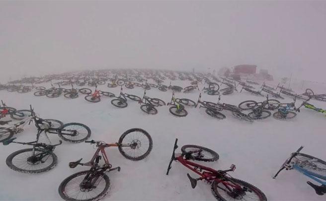 La Mountain of Hell 2017, desde la bicicleta de Fabien Cousinié