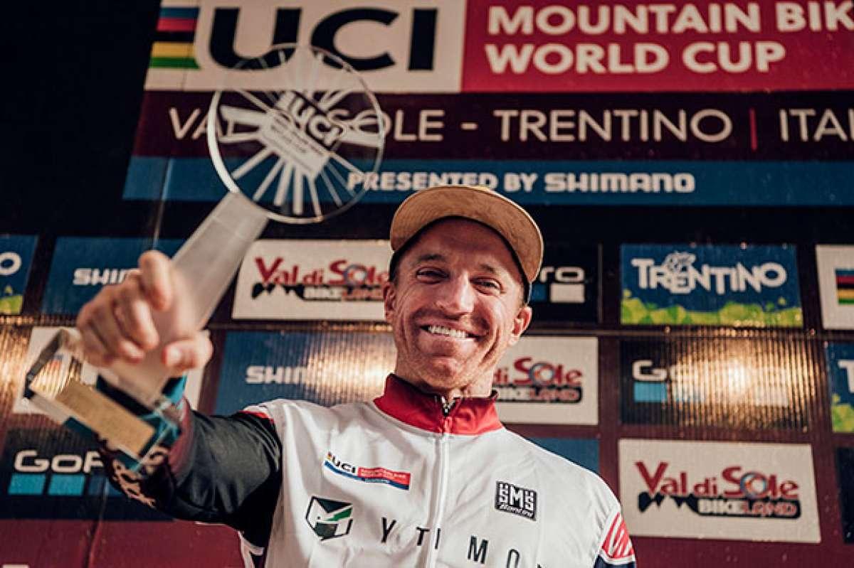 El descenso ganador de Aaron Gwin en la Copa del Mundo DHI 2017 de Val di Sole