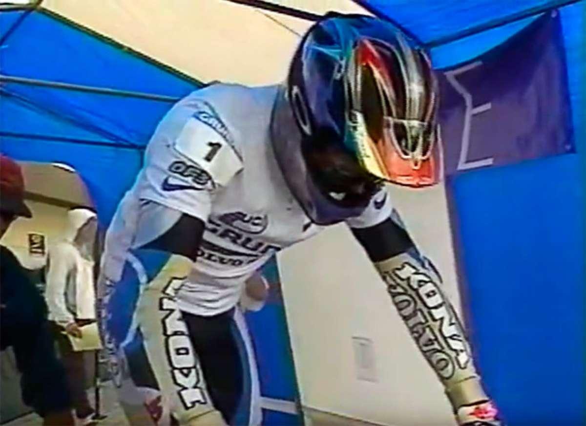 En TodoMountainBike: Así ganó Tomi Misser la Copa del Mundo DHI de 1996 disputada en Mont-Sainte-Anne
