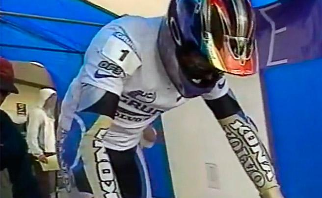 Así ganó Tomi Misser la Copa del Mundo DHI de 1996 disputada en Mont-Sainte-Anne