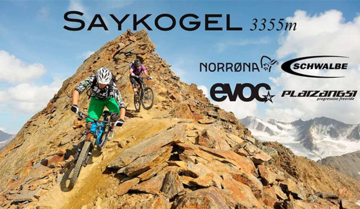 Un impresionante, técnico y muy difícil descenso en Saykogel (Austria, 3.355 metros)
